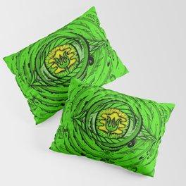 Eye of an Incarnation Green Pillow Sham