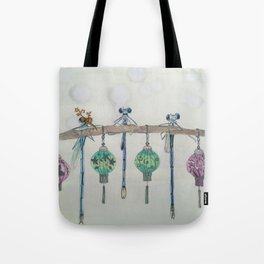 Office Party Tote Bag