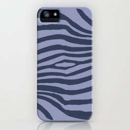 Animal Waves (Cold Mood) iPhone Case