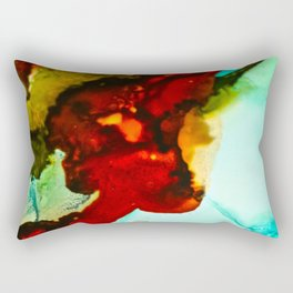 Abstract Lady Rectangular Pillow