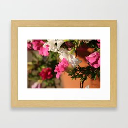 Glorious Abstract Floral  Framed Art Print