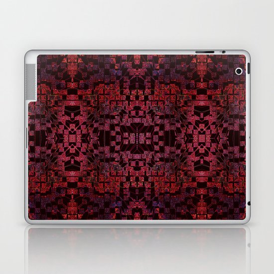 Electric Red Cubes  Laptop & iPad Skin