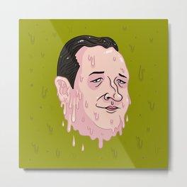 Ted Crooze Metal Print