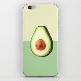 Avocado Half Slice iPhone Skin