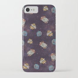 Millenium flowers iPhone Case
