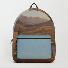 African American Masterpiece View of Lake Okanagan, British Columbia by Grafton Tyler Brown Backpack
