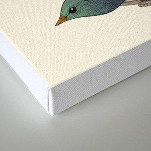birdhouse revisited Canvas Print