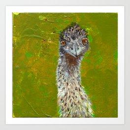 Teaching of the Emu Art Print