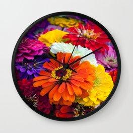 ZINNIA - 180704/1 Wall Clock