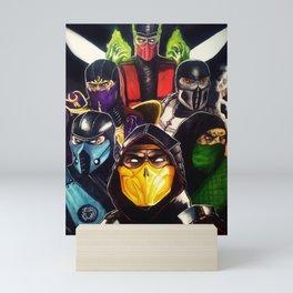Ninjas Mini Art Print