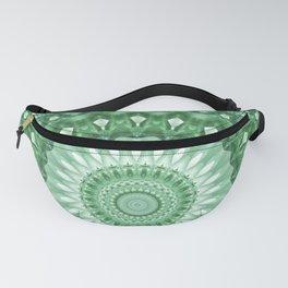 Emerald Green Mandala Fanny Pack
