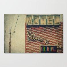 Silver Sands Motel Canvas Print
