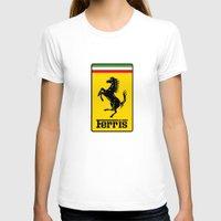 ferrari T-shirts featuring Ferris Ferrari by Preston Lee Design
