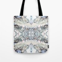 shopping Tote Bags featuring shopping by ONEDAY+GRAPHIC