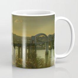 Brunel Bridge Sunset Coffee Mug