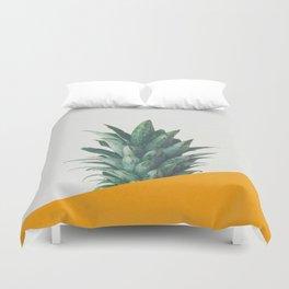 Pineapple Dip IV Duvet Cover