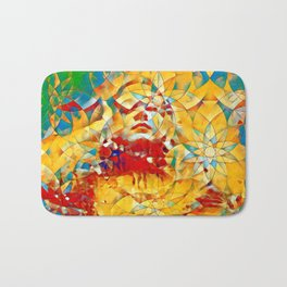 6759s-KMA The Woman in the Stained Glass Sensual Feminine Energy Emerging Bath Mat