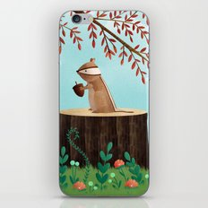 Woodland Friends - Chipmunk iPhone & iPod Skin