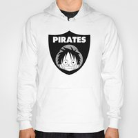 pirates Hoodies featuring Pirates  by Buby87