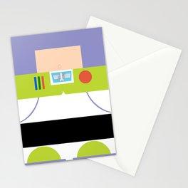 Buzz Lightyear Minimalist Stationery Cards