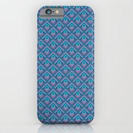Geometric Peacock iPhone Case