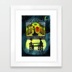 one another Framed Art Print