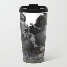 "Statue of ""Louie the XIV"" Metal Travel Mug"