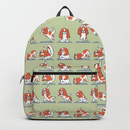 Cavalier King Charles Spaniel Yoga Backpack