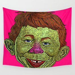 Alfred E. Newman MAD Wall Tapestry