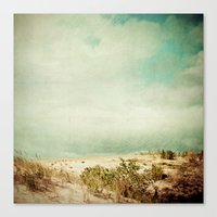 wander Canvas Prints featuring Wander by Olivia Joy StClaire