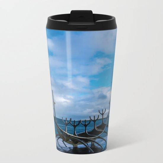 Remember the Vikings Metal Travel Mug