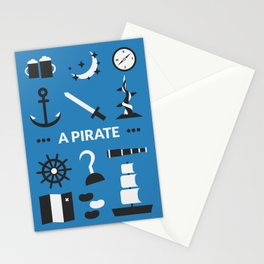OUAT - A Pirate Stationery Cards