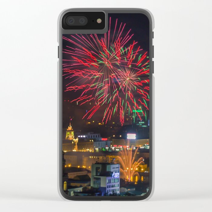 Firework collection 2 Clear iPhone Case
