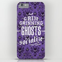 Haunted Mansion - Grim Grinning Ghosts iPhone Case