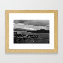 kelowna, british columbia Framed Art Print