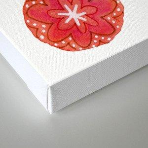 Blooming Circles Canvas Print