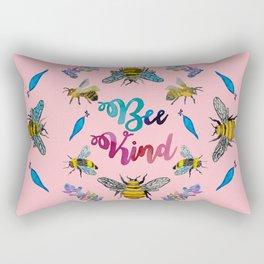 Bee kind Rectangular Pillow