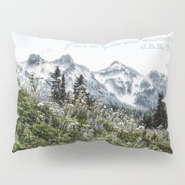 Tolkien Not All Those Who Wander Are Lost Pillow Sham