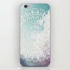 RAINBOW CHIC MANDALA iPhone & iPod Skin