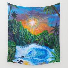 Island Eyes Wall Tapestry