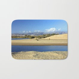 Beautiful landscape from Gran Canaria Bath Mat