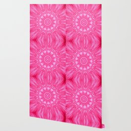 Pink Mandala Explosion Wallpaper