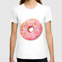 donut T-shirts featuring Donut  by Julia Nordlund