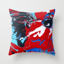 The Treasure Ship by FRANKY Throw Pillow