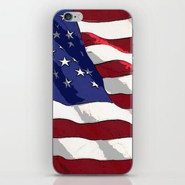 Fancy Flag:  USA 3 iPhone Skin