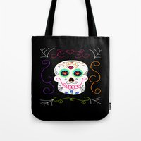 selena gomez Tote Bags featuring Gomez by Designs By Misty Blue (Misty Lemons)