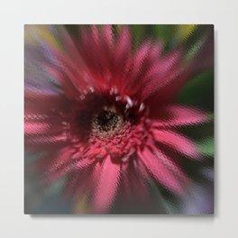 The Liminal Flower Dances Metal Print