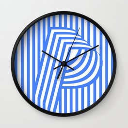 Light Providence Poster by Codec Wall Clock