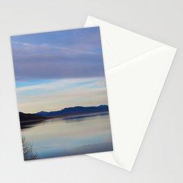 Blue Lake Reflection Stationery Cards
