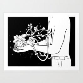 Show Me Your Heart Art Print